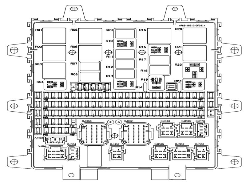 Схема на рено премиум